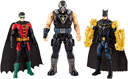 Justice League - Pack De 3 Figuras Batman, (Mattel FVM57)