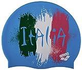 arena 1E368 Bonnet de Bain Mixte Enfant, Flag Italy, FR Fabricant : Taille Unique