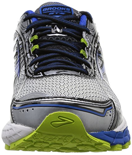 Brooks  Adrenaline GTS 15, Chaussures de running hommes Multicolore (Lime Punch/White Olympic)