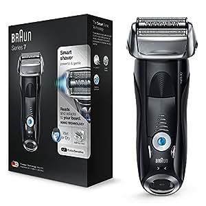 Braun Series 7 7840S Rasoio Elettrico Barba Ricaricabile a Lamina Wet&Dry, senza Fili, da Uomo
