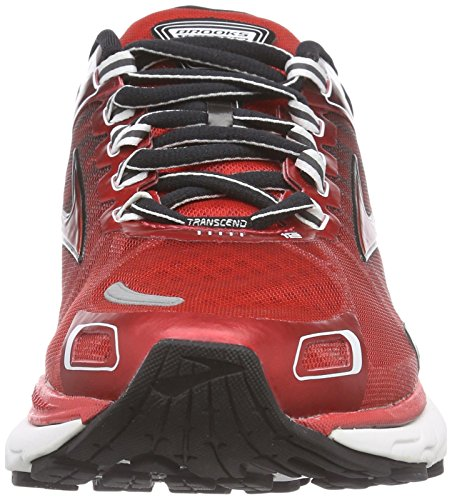 BrooksTranscend 2 - Scarpe Running Uomo Multicolore ( High Risk Red / Black / White )