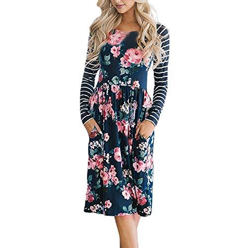 HWTOP Field Kleid Kleider Damen Kleid Tunika Damen Kleider Damen Große Größen Great Gatsby Kleid Oma Kleider Lang Renaissance Kleid Kleider Jersey Kleider Sexy Anker Damen Kleider