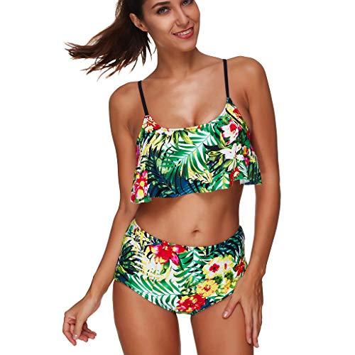 Darringls Maillot De Bain Split Femme Swimwear Plage Push Up Brésilien Deux pièces Sport Beachwear Grande Taille Mince Sexy Maillot de Bain Bikini Été