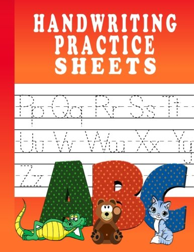 Handwriting Practice Sheets: 100 Pages Of Handwriting Practice For Kids, Preschool, Kindergarten Handwriting Workbook por Handwriting Practice Paper Expert