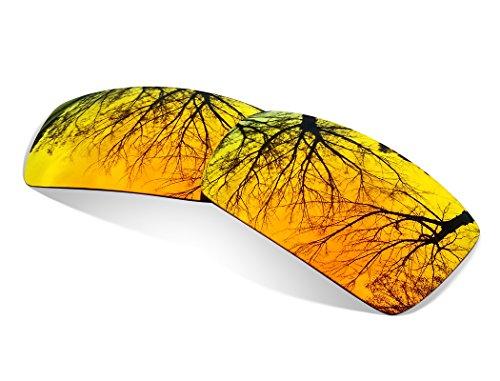 sunglasses restorer Kompatibel Ersatzgläser für Oakley Eyepatch 2 & 1, Polarisierte Fire Iridium