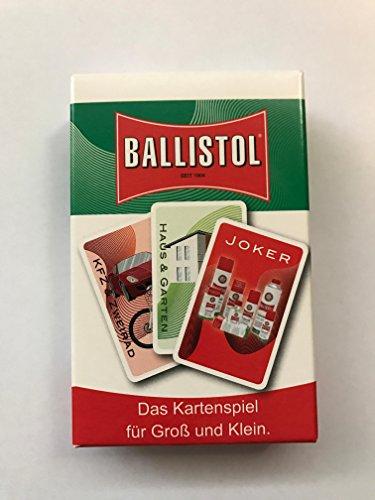 Preisvergleich Produktbild Ballistol Kartenspiel für die Reise - für Groß und Klein! Mit Joker!