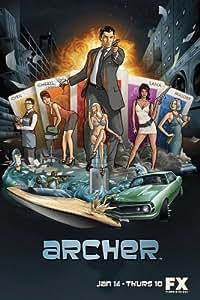 Archer Affiche la télévision Poster Television Archer (11 x 17 In - 28cm x 44cm) Style A
