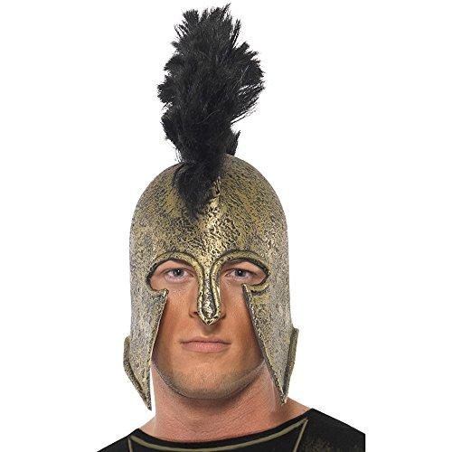 les Helm, One Size, Gold, 37286 (Achilles Halloween-kostüm)