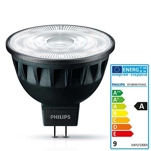 Philips Master LED ExpertColor 7.5-43W MR16 927 36D, Glas, GU5.3, 7.5 W, Weiß, 5 x 4 x 4 cm - Ar-master-serie