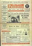 Telecharger Livres VIE DES METIERS PATISSERIE LA No 150 du 01 04 1958 LA TVA SUR LES CREMES GLACEES QUALITE D ABORD QUALITE TOUJOURS LES FORFAITS SONT SCANDALEUSEMENT MAJORES (PDF,EPUB,MOBI) gratuits en Francaise