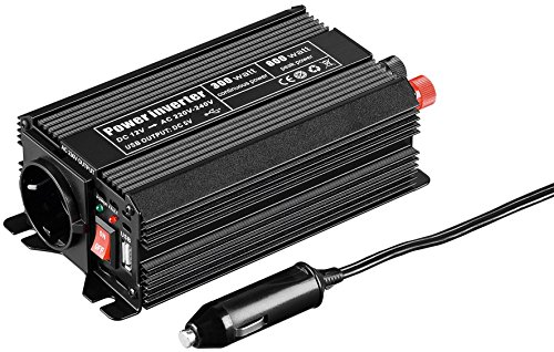 Image of Goobay SPW 300 USB DC/AC 12 auf 230 V Spannungswandler