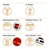 Beurer IL 50 Infrarot-Wärmestrahler, Infrarotlampe zur Behandlung von Erkältungen und...