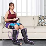 Kawachi Air Pressure Therapy Foot Massager for Pain Relief of Foot, Calf, Leg