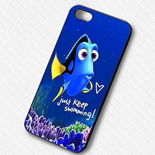 Finding Dory just keep swimming for Cover Iphone 6 and Cover Iphone 6s Case E4L2WY