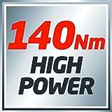 Einhell Akku Schlagschrauber TE-CI 18 Li Power-X-Change (Lithium Ionen, 18 V, 140 Nm, 3 Power LED's, Koffer, inkl. 1,5 Ah Akku und Ladegerät) - 11