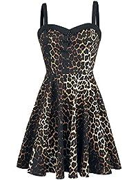Hell Bunny Panthera Mini Dress Robe Léopard
