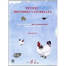 Petites Histoires Naturelles pour chant et piano