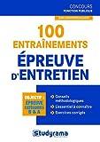 Image de 100 entraînements à l'entretien oral