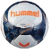 hummel Kinder Premier Light FB Fussball, White/Vintage Indigo/Orange, 4