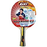 GKI Offensive XX New Computerised Printed Cover Table Tennis Racquet (Pack Of 2)