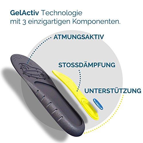 Scholl Einlegesohlen Gel Activ Work (Gr.40-46.5), 1 Paar - 4