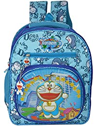 Shopigator Doraemon School Backpack, School Bag For Children, School Bag For Kids ( Blue ) ( 5 - 12 Years )