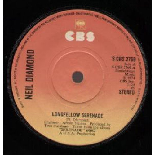 Longfellow Serenade (Neil Diamond-serenade)