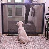 FDGBCF Cane Porta Portatile Pieghevole Protezione Prodotto Griglia Magic Pet Dog Baby Protettivo Guardiano Bambino Baby Fence 72 x 110Cm
