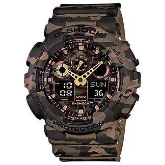 Casio G-Shock Analog-Digital Green Dial Men's Watch – GA-100CM-5ADR (G580)