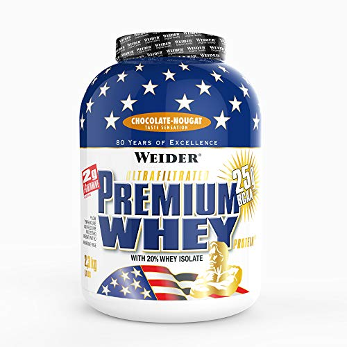 Weider Premium Whey Proteinpulver, Low Carb Proteinshakes