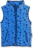 Playshoes Fleeceweste Allover Sterne, Oeko-Tex Standard 100, Chaleco para Bebés, Azul (Blau 7), 80