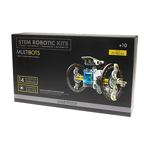 Juguetrónica- Multibots, Construye 14 Robots Solares (JUG0303)