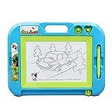 Beby Magnettafel grau schwarz Gekritzel Skizze Löschbar Spielzeug mit 2 Stanzerei bengel Kinder (Zufällige Farbe)