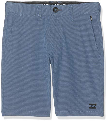 BILLABONG Crossfire X Short De Sport, Bleu (Blue 20), Ans (Taille Fabricant: 10) Garçon