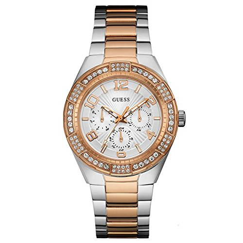 GUESS Analog Silver Dial Unisex Watch - W0729L4