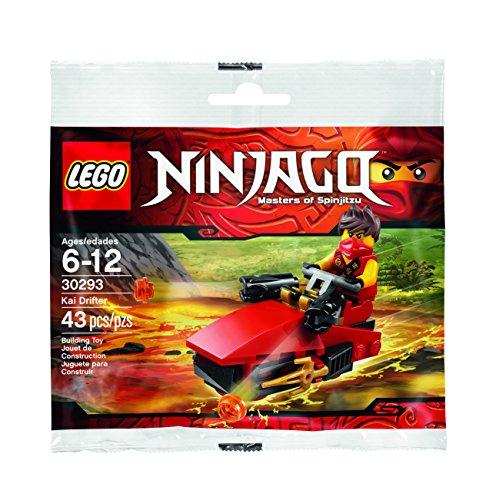 Die Besten LEGO Ninjago Kai Sets 2017 im Vergleich - LEGO Ninjago 30293: Kai Drifter Polybag