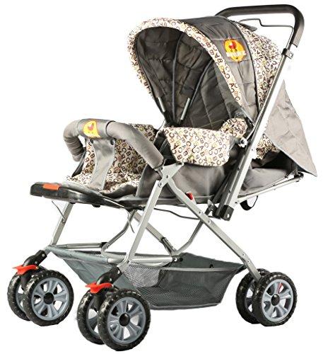 Baybee Orbit Stroller Pram (Grey)