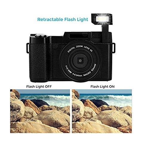 Xqxiqi689sy fotocamere digitali lcd fotocamera digitale full hd 1080p videocamera professionale vlogging fotocamera