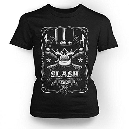 Slash saffico - T-Shirt - Label multicolore
