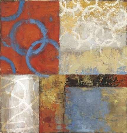 Feeling-at-home-Kunstdruck-Orange-Crush-cm85x80-Poster-fuer-Rahmen