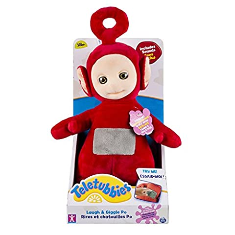 Spin Master 6029452 – Laugh & Giggle Po Teletubbies soft toy 25 cm