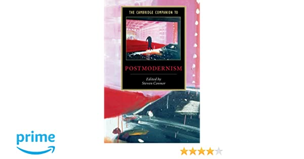 The Cambridge Companion to American Modernism Cambridge Companions to Literature