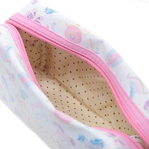 Handy-PVC-Make-Up-Toilette-Wash-Bag-Unicorn-Princess