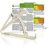 Adipomètre / Pince pour mesurer la graisse sous-cutanée et corporelle - Mesureur de graisse corporelle