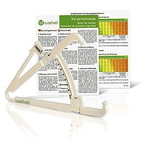 Washati Fettmesszange zur Messung der Hautfaltendicke und Bestimmung des Körperfettgehaltes