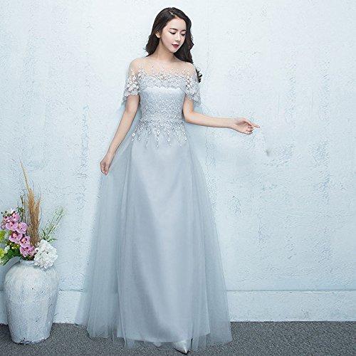 SHA Bankett Abendkleid Schwarz Lange Elegante Jährliche Host Kleid Kleid War Dünn Kleid...