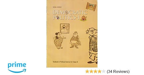 Democratic politics 1 textbook in social science for class 9 democratic politics 1 textbook in social science for class 9 972 amazon ncert books fandeluxe Gallery