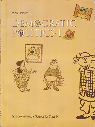 Democratic Politics – 1 : Textbook in Social Science for Class – 9  – 972 51YizTiEFAL
