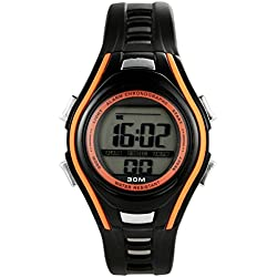 GOBU 1611 Fashion Sport Watch Multifunction Multi-colour Led LAnalog Digital Waterproof Alarm Wristwatch Water Resistant Features Alarm/ Chronograph Stopwatch/ Timer