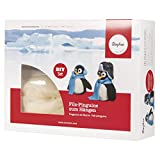 Rayher 53685000 Bastelpackung: Filz Pinguine zum Hängen,